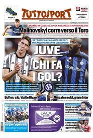 La prima pagina di Tuttosport