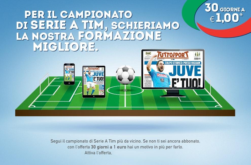 Promo Campionato 2016/2017 - Tuttosport